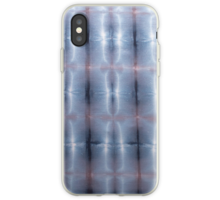SKU259 Shibori Style Blue Pink 1 design is available on iPhone Case/skins.