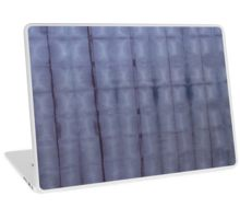 SKU303 Shibori Style Blue Denim 1 design is available on laptop skins.