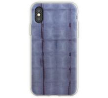 SKU303 Shibori Style Blue Denim 1 design is available on iPhone cases and covers.