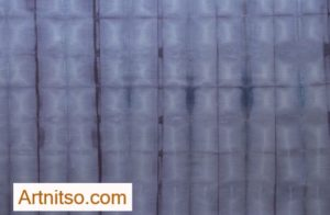 SKU303 Blue Denim - Shibori Style 1 is available on a range of items for sale from Artnitso's Redbubble.com shop.