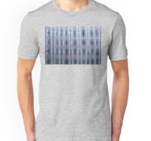 SKU259 Shibori Style Blue Pink 1 design is available on unisex t-shirts.