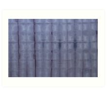 SKU303 Shibori Style Blue Denim 1 design is available as art prints.