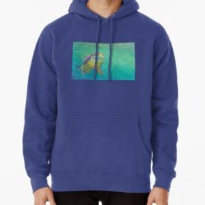 SKU318 Shark 2 design is available on hoodie pullovers.