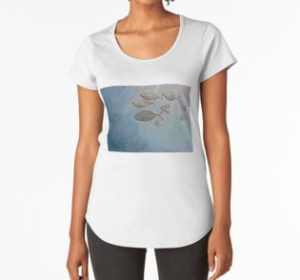 SKU332 Trevally at Manly is available on womens premium t-shirts.