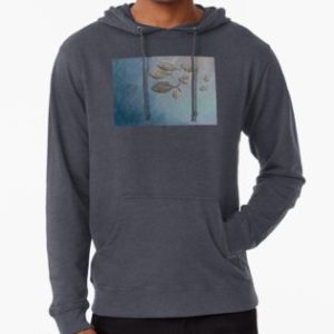 SKU332 Trevally at Manly is available on a lightweight hoodie.