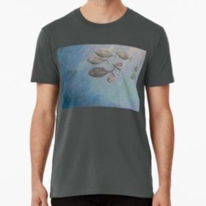SKU332 Trevally at Manly is available on a mens premium t-shirt.
