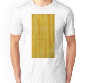 SKU333 Shibori Style Yellow 1 is available on unisex t-shirts.