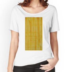 SKU333 Shibori Style Yellow 1 is available on womens relaxed fit t-shirts.