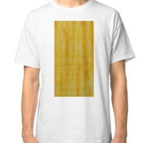 SKU333 Shibori Style Yellow 1 is available on classic t-shirts.