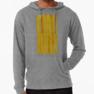 SKU333 Shibori Style Yellow 1 is available on lightweight hoodies.