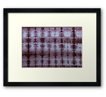 SKU349 Shibori Style Chocolate 1 is available as framed prints.