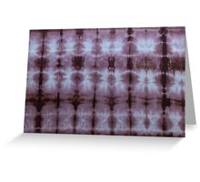 SKU349 Shibori Style Chocolate 1 is available on greeting cards.