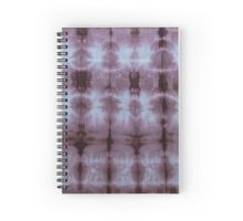 SKU349 Shibori Style Chocolate 1 is available on spiral notebooks.