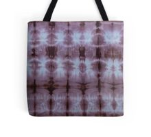 SKU349 Shibori Style Chocolate 1 is available as tote-bags.