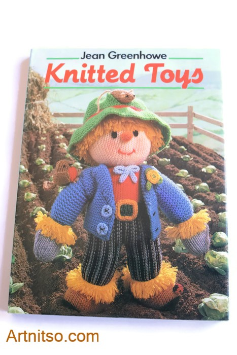Knitted Toys book Jean Greenhowe cover - Artnitso.com text