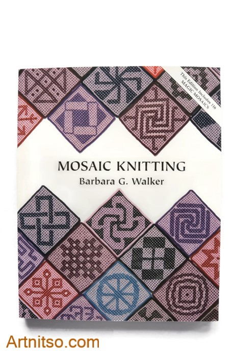 Mosaic Knitting - Barbara Walker - cover - Artnitso.com text