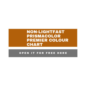 Link to an interactive colour chart for the non-lightfast Prismacolor Premier coloured pencils