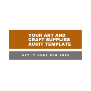 Link to an art and craft supplies audit template