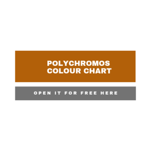 Link to an interactive colour chart for Faber Castell Polychromos coloured pencils
