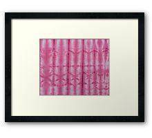 SKU 545 Shibori Style Fuschia 9 is available on Framed Prints