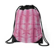 SKU 545 Shibori Style Fuschia 9 is available on Drawstring Bags