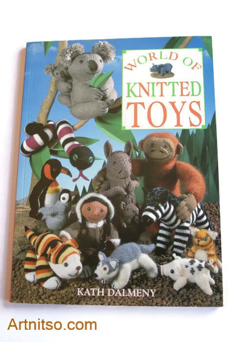 World of Knitted Toys book - cover - Artnitso.com text