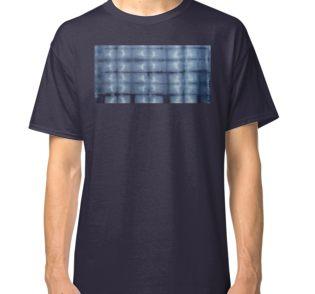 SKU 546 Shibori Style - Blue Denim 2 classic t-shirt