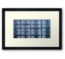 SKU 546 Shibori Style - Blue Denim 2 on framed prints