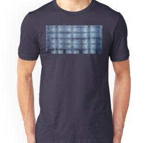 SKU 546 Shibori Style - Blue Denim 2 available on slim fit t-shirt