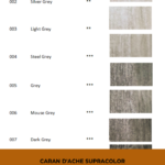 Pinterest image - Caran d'Ache Supracolor interactive colour chart showing neutral colour swatches. Text says 'Caran d'Ache Supracolor - search and sort the online colour chart at Artnitso.com.'