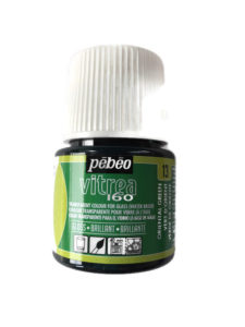 Pebeo Vitrea 160 Transparent glass paint gloss Oriental green