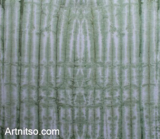 SKU574 Shibori Style - Green 2 Artnitso.com