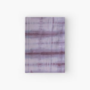 SKU609 Shibori Style Violet 1 is available on hardcover journals