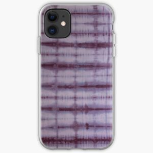 SKU609 Shibori Style Violet 1 is available on iPhone soft cases