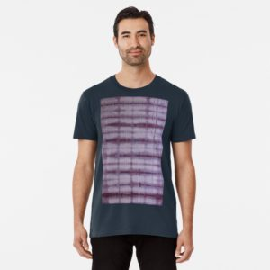 SKU609 Shibori Style Violet 1 is available on premium t-shirts