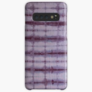 SKU609 Shibori Style Violet 1 is available on Samsung galaxy snap cases