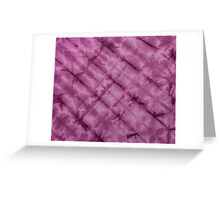 SKU611 Shibori Style - Violet 3 is available on greeting cards.