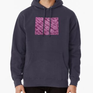 SKU611 Shibori Style - Violet 3 is available on hoodie pullovers.