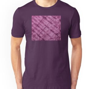 SKU611 Shibori Style - Violet 3 is available on slim fit t-shirts.