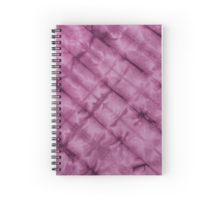 SKU611 Shibori Style - Violet 3 is available on spiral notebooks.