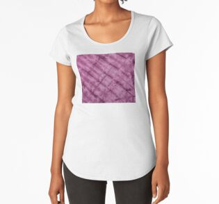 SKU611 Shibori Style - Violet 3 is available on premium scoop t-shirts.
