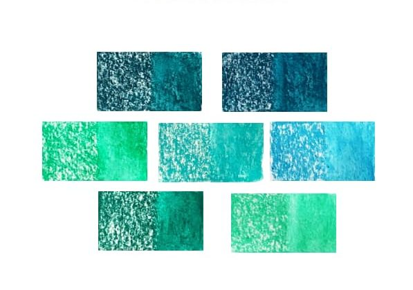 Caran dAche Neocolor II Green-Blue - Artnitso.com