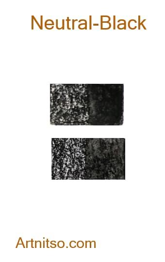 Caran d'Ache Neocolor II Neutral-Black - Artnitso.com