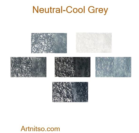 Caran d'Ache Neocolor II Neutral-Cool Grey - Artnitso.com