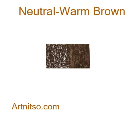 Caran d'Ache Neocolor II Neutral-Warm Brown - Artnitso.com
