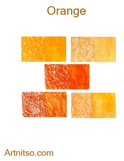 Caran d'Ache Neocolor II Orange - Artnitso.com