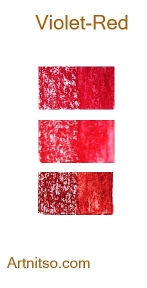 Caran d'Ache Neocolor II Violet-Red - Artnitso.com