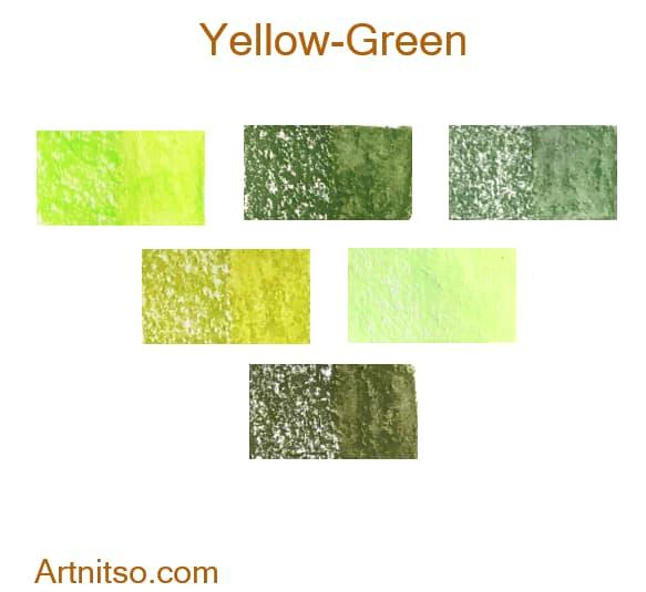 Caran d'Ache Neocolor II Yellow-Green - Artnitso.com