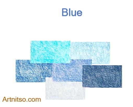Caran d'Ache Luminance Blue 2020 - Artnitso.com