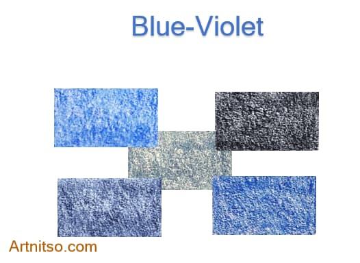 Caran d'Ache Luminance Blue-Violet 2020 - Artnitso.com